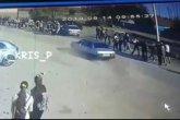 Ақтөбе облысында бір топ адамды көлік қағып кетті (ВИДЕО)