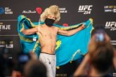 Қазақстандық Рахмонов UFC-де жеңіске жетті