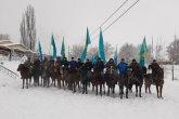 Алматы облысы әкімдігі ту ұстаған шабандоздардың ВИДЕОсына қатысты пікір білдірді