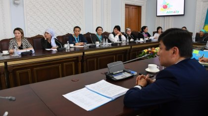 Алматы әкімі көпбалалы аналармен кездесіп, мұң-мұқтажын тыңдады