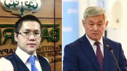 «Менің қатысым жоқ»: Сапарбаев ұлының мансабына қатысты жауап берді