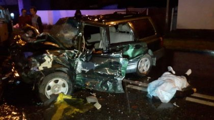 Алматыда сұмдық жол апаты: 2 адам қайтыс болды