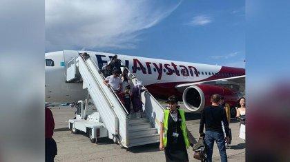 «Өте қорқынышты болды»: FlyArystan ұшағынан ақау табылды