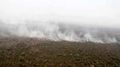 Боливияда Амазон өзені аймағындағы орман өрті әлі жалғасуда
