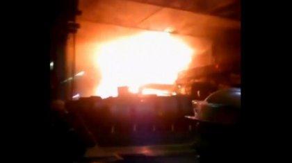 Теміртауда орналасқан металлургиялық комбинатта өрт болды (ВИДЕО)