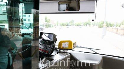 Нұр-Сұлтанда қоғамдық көлік жолақысын енді банк картасы арқылы төлеуге болады