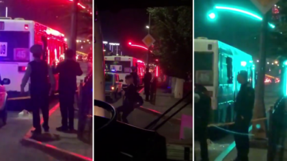 Қарағандыда белгісіз біреу жолаушылар автобусына оқ жаудырды (ВИДЕО)