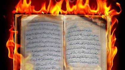 «1,3 миллиард мұсылманның сезімін ауыртатын әрекет»: белсенді алаңда Құран кітапты өртеді