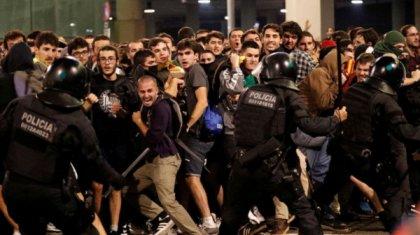 Футбол соңында полицейлер жанкүйерлерге оқ жаудырды