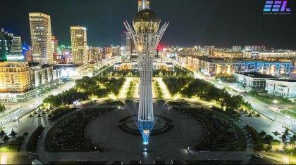 Небо Нур-Султана осветилось десятками ночных огней (ФОТО, ВИДЕО)