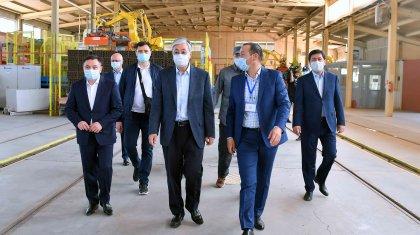 Мемлекет басшысы «Astana Ceramic» ЖШС-нің жұмысымен танысты