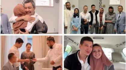 Ақан Сатаев қызын ұзатты (ВИДЕО)