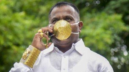 «Маған таңғалып қарады»: коронавирустан сақтану үшін алтын маска сатып алған