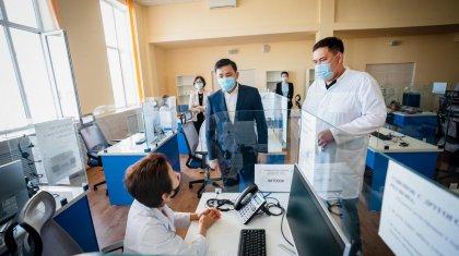 Ситуационный центр распределил 750 пациентов с КВИ по стационарам в Нур-Султане