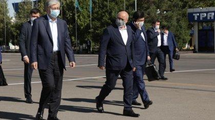 Тоқаев Түркістан облысына жұмыс сапарымен барды