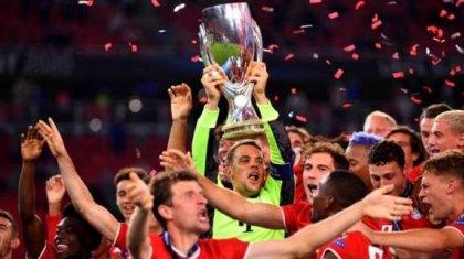 Футбол: «Бавария» UEFA суперкубогын жеңіп алды