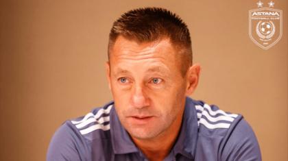 «Астана» ФК-ына жаңа бас бапкер келді