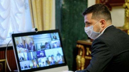 Коронавирус: Украина президенті Зеленский ауруханаға жатқызылды