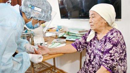 65 жастан асқандарға және балаларға тегін профилактикалық тексеріс жүргізілуде