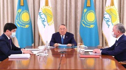 Назарбаев «Nur Otan» Саяси кеңесі бюросының отырысын өткізді