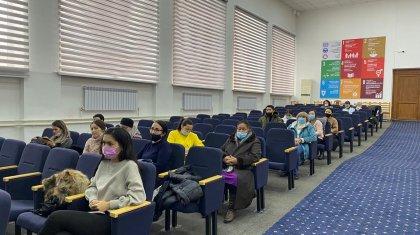 «Менің сайлау құқығым»: Алматыдағы қоғамшылдар алдағы сайлау процесін түсіндірді