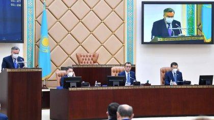 «Парламент жыл бойы ауқымды жұмыс атқарды» - Сенат төрағасы