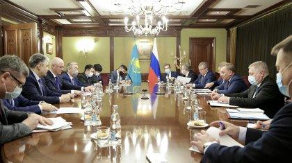 Үкіметтік делегация Мәскеуге барды