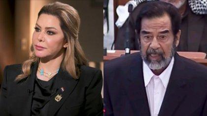 15 жыл көпшілік алдына шықпаған Саддам Хусейннің қызы сұхбат берді (ВИДЕО)