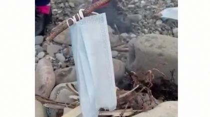 «Маска адамзатқа қарсы қару»: денсаулық министрлігі желіде тараған видеоға түсініктеме берді