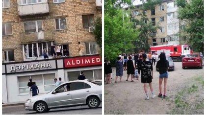 «Бір адам қаза тапты»: Қарағандыда көпқабатты үйде жарылыс болды