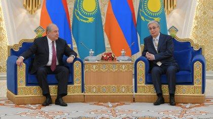 «Өз үйіме келгендей боламын»: Армения президенті Қазақстан туралы пікір білдірді
