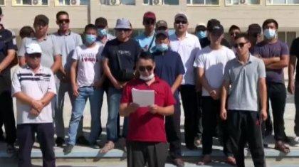 Жаңаөзенде наразылыққа шыққан жұмысшыларды полиция қудалап жатыр