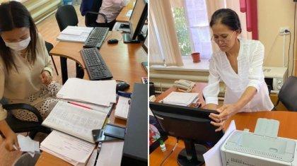 Таңғажайып жаңалық: Атырауда мемқызметкерлер Тәуелсіздіктің 30 жылдығына орай жұмыс орнын тазалады