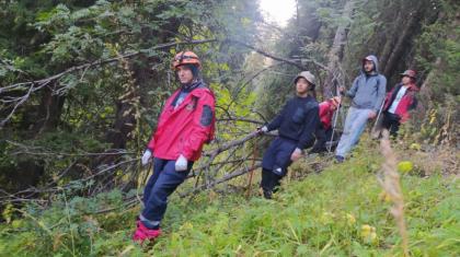 Алматы тауларында жоғалып кеткен үш турист табылды