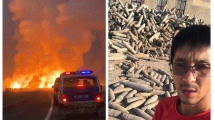 Жамбылдағы жарылыс: Журналисті полицейлер не үшін тергегені белгілі болды