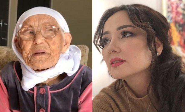 97 жастағы әжесін көрсеткен Жанболат пен Жазира көптің батасын алды (ВИДЕО)