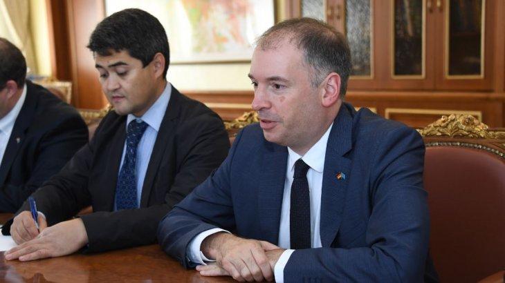 Алматы әкімі Германияның сыртқы істер министрімен кездесті