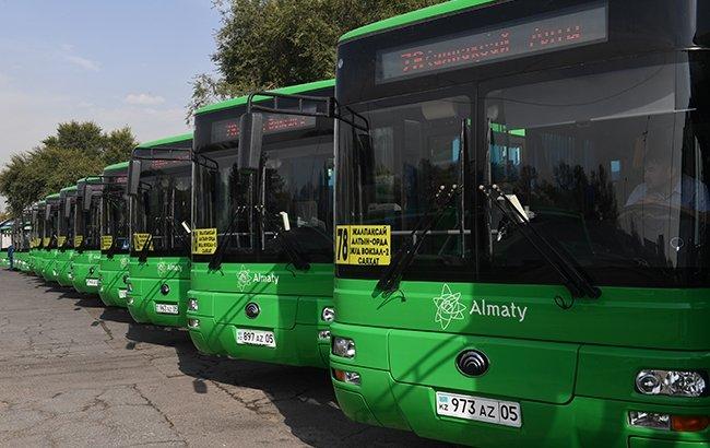 Алматыда тағы бірнеше бағыттың автобустары жаңарды