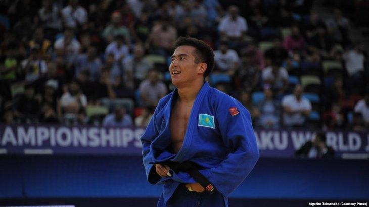 Дзюдошы Серікжанов Бакуде өтіп жатқан әлем чемпионатында күміс алды