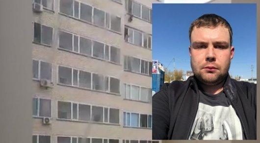 Астанада 10-қабаттан құлап бара жатқан сәбиді төмендегі көршісі қағып алды (ВИДЕО)