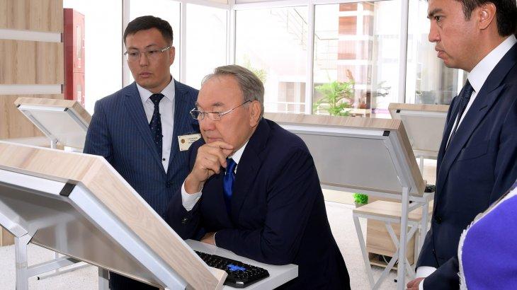 Назарбаев: «Еңбекқор шымкенттіктер қаланың даму кепілі»