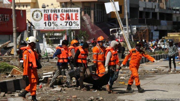 Индонезия билігі халықаралық қауымдастықтан көмек сұрады