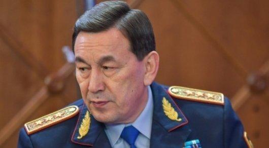 Қасымов полицейлердің жаңа формасына қатысты пікір білдірді