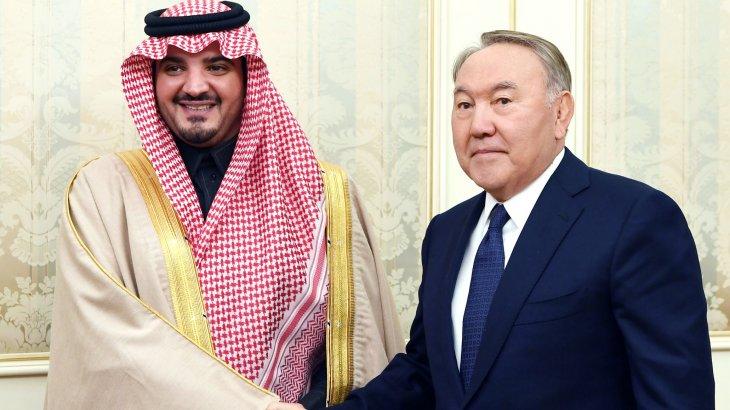 Президент Сауд Арабиясының Ішкі істер министрімен кездесті
