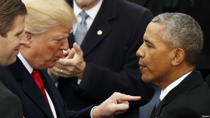 Трамп Қырымды аннексиялап алған Ресей әрекетіне Обаманы кінәлады