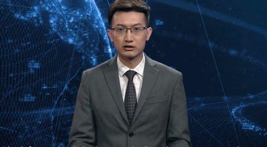 Қытайда робот бірінші рет жаңалықтар жүргізді (ВИДЕО)