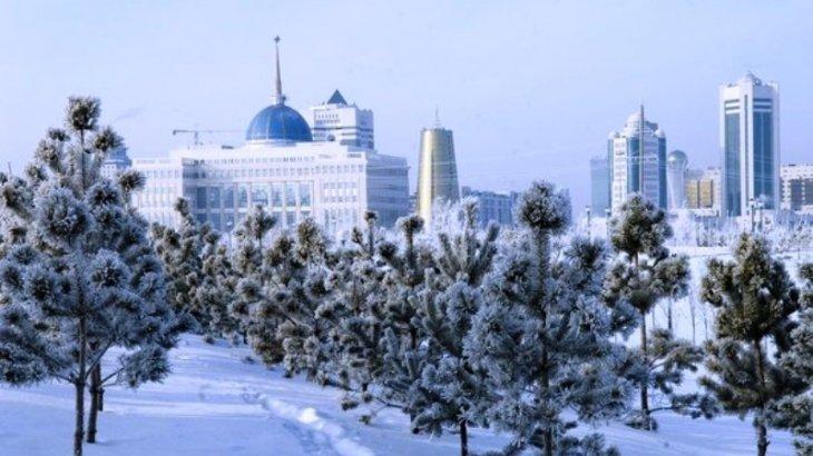 Астанада бүгін -22 градус аяз болады