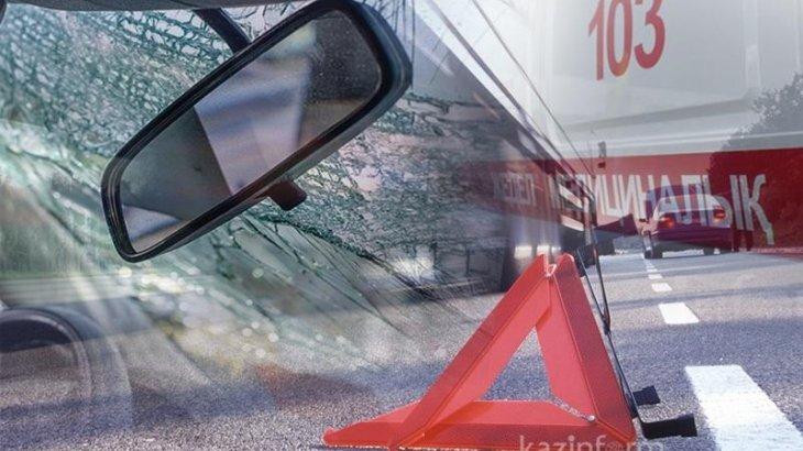 2 адам мерт боп, 6 адам ауруханаға түсті: Алматы облысында жол апаты болды