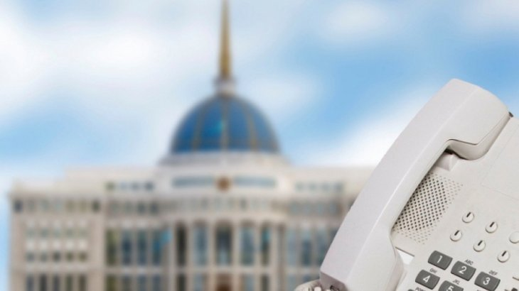 Назарбаев Владимир Путинмен телефон арқылы сөйлесті