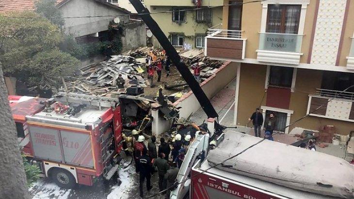 Түркияда тікұшақ тұрғынүйге құлап, 4 адам қаза тапты